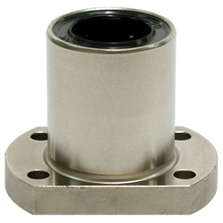 Linear Bushing with Flange ULFT Type, (U Ultra), Single, T-Type Flange