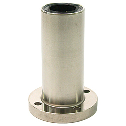 Linear Bushing with Flange ULFD Type, (U Ultra), Double, Round Flange