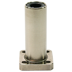 Linear Bushing with Flange ULFDK Type, (U Ultra), Double, Rectangular Flange
