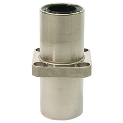 Linear Bushing with Flange LFDKC Type, Double, Center Position, Rectangular Flange