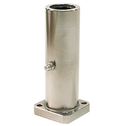 Linear Bushing with Flange, Long LFLK Type, Rectangular Flange, with Lubrication Hole