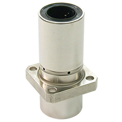 Linear Bushing with Flange LFDK-OH Type, Double, Center Position, Rectangular Flange, with Lubrication Hole