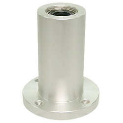 Linear Bushing Housing with Flange LFW Type, Double, Round Flange, Aluminum Case