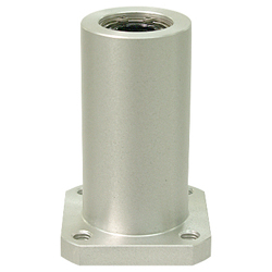 Linear Bushing Housing with Flange LFWK Type, Double, Rectangular Flange, Aluminum Case