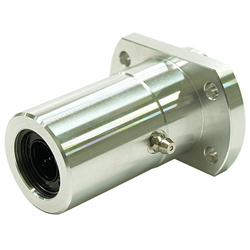 Linear Bushing Housing with Flange LFWB Type, Double, Boss Position, T-Shaped Flange, Aluminum Case, with Lubrication Hole