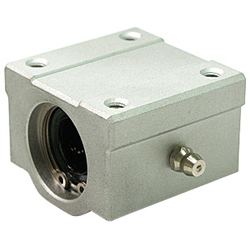 Linear Bushing Housing LH-OH Type, Single, Aluminum Case, with Lubrication Hole