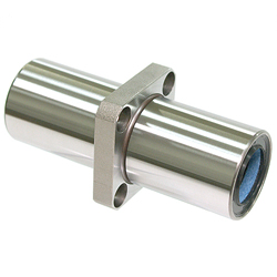 Maintenance-Free Linear Bushing with Flange LFDKC-MF Type, Double, Center Position, Rectangular Flange