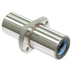 Maintenance-Free Linear Bushing with Flange LFDTC-MF Type, Double, Center Position, T-Type Flange