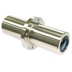 Maintenance-Free Linear Bushing with Flange LFLC-MF Type, Long, Center Position, Round Flange