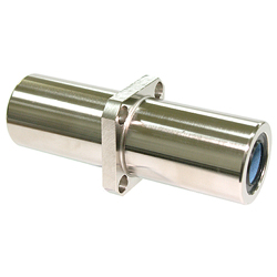 Maintenance-Free Linear Bushing with Flange LFLKC-MF Type, Long, Center Position, Rectangular Flange