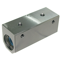 Maintenance-Free Linear Housing CHW-MF Type, Double, Compact, Aluminum Case