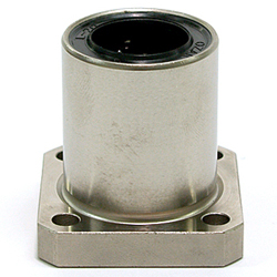 Linear Bushing with Flange LFKM Type (ECO Series), Single, Rectangular Flange