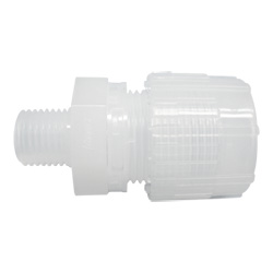 Super 300 Type Pillar Fitting Male Connector
