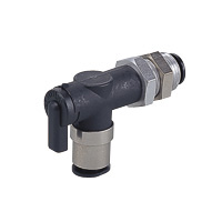 Shut-off Valve Ball Valve 10 Series Bulkhead Union Elbow