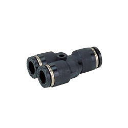 Tube Fitting Union Y for Standard Pipe