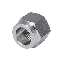 Corrosion Resistant SUS316 Tightening Fitting, Cap Nut Only