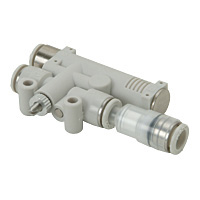 Singe Unit Type Vacuum Break Function Attached Air Release with Vacuum Filter