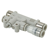 Singe Unit Type Vacuum Break Function Attached Central Exhaust with Vacuum Filter