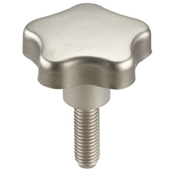 Grub Screws with Star Grip, Stainless steel