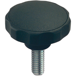 Grub Screws with Star Grip, Plastic