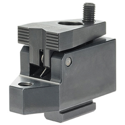 Down-Hold Clamps, without clamping lever, with support