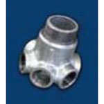 ZD Fittings, White Product, Multi-Opening Fittings ZD-SPTP4-11/2X1B-W