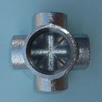 Steel Pipe Fitting, Threaded Pipe Fitting, Multi-Port Fitting