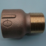 Pipe-End Anticorrosion Fitting, RCF-K Type, for Fixture Connection, General Type, B Type Female Male Socket (Bronze)