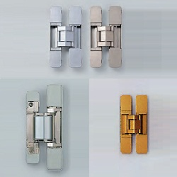 Hidden Hinge With 3D Adjustment Function HES3D-120 Type/V135LGR Type/160 Type/190E Type