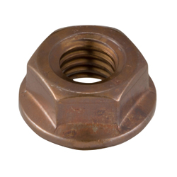 Flanged Nut, with Serrations
