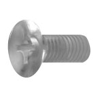 Polycarbonate Cross Recessed Flat Head Screw
