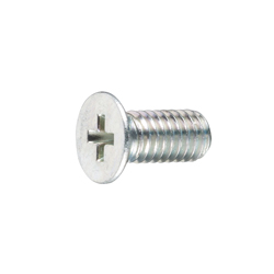 No 0 Type 3 Phillips Low Flat Head Screw
