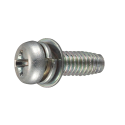Tap-Tight S Type Pan Screw P=4 (SW+JIS Small Flat W)