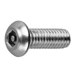 TRF/Tamper-Proof Screw, Stainless Steel Pin, Small Button Hexagonal Hole Screw (UNC)