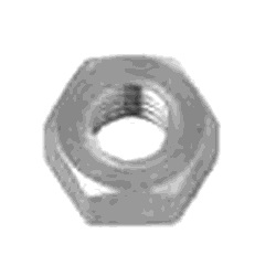Low Cadmium Hex Nut (3 Types) (Milled)