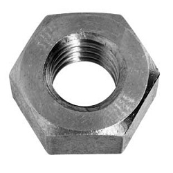 Hex Nut (1 Type) (Whitworth) (Cutting)