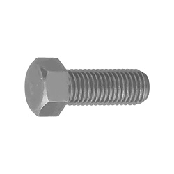 Steel 7 Mark Small Size Hexagon Bolt (Full Thread) (Fine Thread)