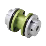 Long Disc Type Coupling - Set Screw Type (Double Disc)