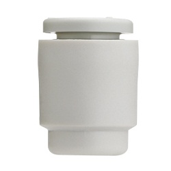 KQ2C, One-touch Fitting White Color - Tube Cap