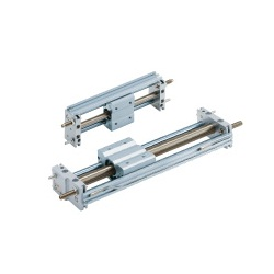 Magnetically Coupled Rodless Cylinder, Slide Bearing, CY1S-Z Series