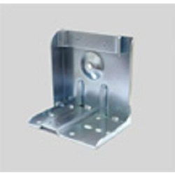 Metal Fixture for Mounting the Caster on Pipe Frame JB-007LN/JB-007RN