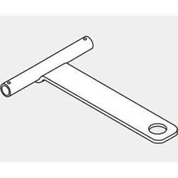 Part for Connecting Hand Trucks Used for Pipe Frames JB-712A
