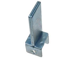 Parts for Pipe Frame Chutes, Guide Bracket