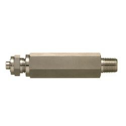 SUS316 Stainless-Steel Double Ferrule System Male Vent Plug (Long Type)