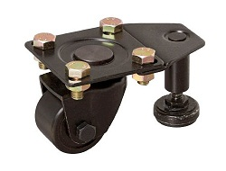 Low Floor Type Caster (MC Nylon Wheel) with Swivel Adjuster
