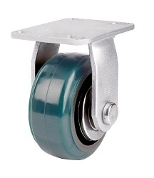 Heat-Resistant Caster for Heavy Loads (Urethane Wheel) Fixed