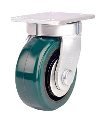 Heat-Resistant Caster for Heavy Loads (Urethane Wheel) Swivel