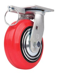 Caster for Heavy Loads (Moisture Resistant Urethane Wheel) Swivel