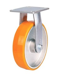 Heat-Resistant Caster for Heavy Loads (Urethane Wheel / Maintenance-Free) Fixed