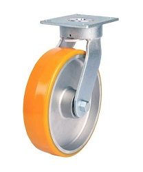 Heat-Resistant Caster for Heavy Loads (Urethane Wheel / Maintenance-Free) Swivel
